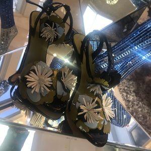 Zara floral sandals